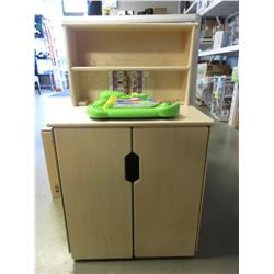 CHILDS CABINET & TOY