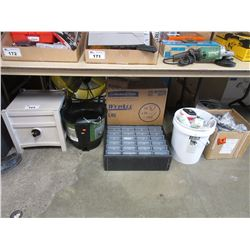 LARGE LOT OF ASSORTED HOUSEHOLD ITEMS