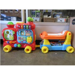 2 NEW VTECH SIT-TO-STAND ULTIMATE ALPHABET TRAINS
