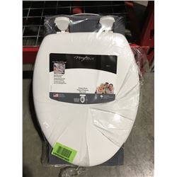 MAYFAIR WHITE REPLACEMENT TOILET SEAT