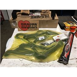 PAIR OF HOOKER CLASSIC EXHAUST HEADERS FITS CLASSIC CARS, CAMARO, CHEVY, ELCAMINO, MONTICARLO,