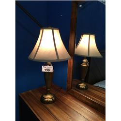 SET OF 3 CONTEMPORARY TABLE LAMPS