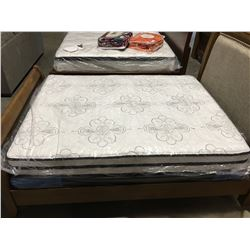 CHIME HYBRID QUEEN SIZE MATTRESS AND BOX SPRING SET
