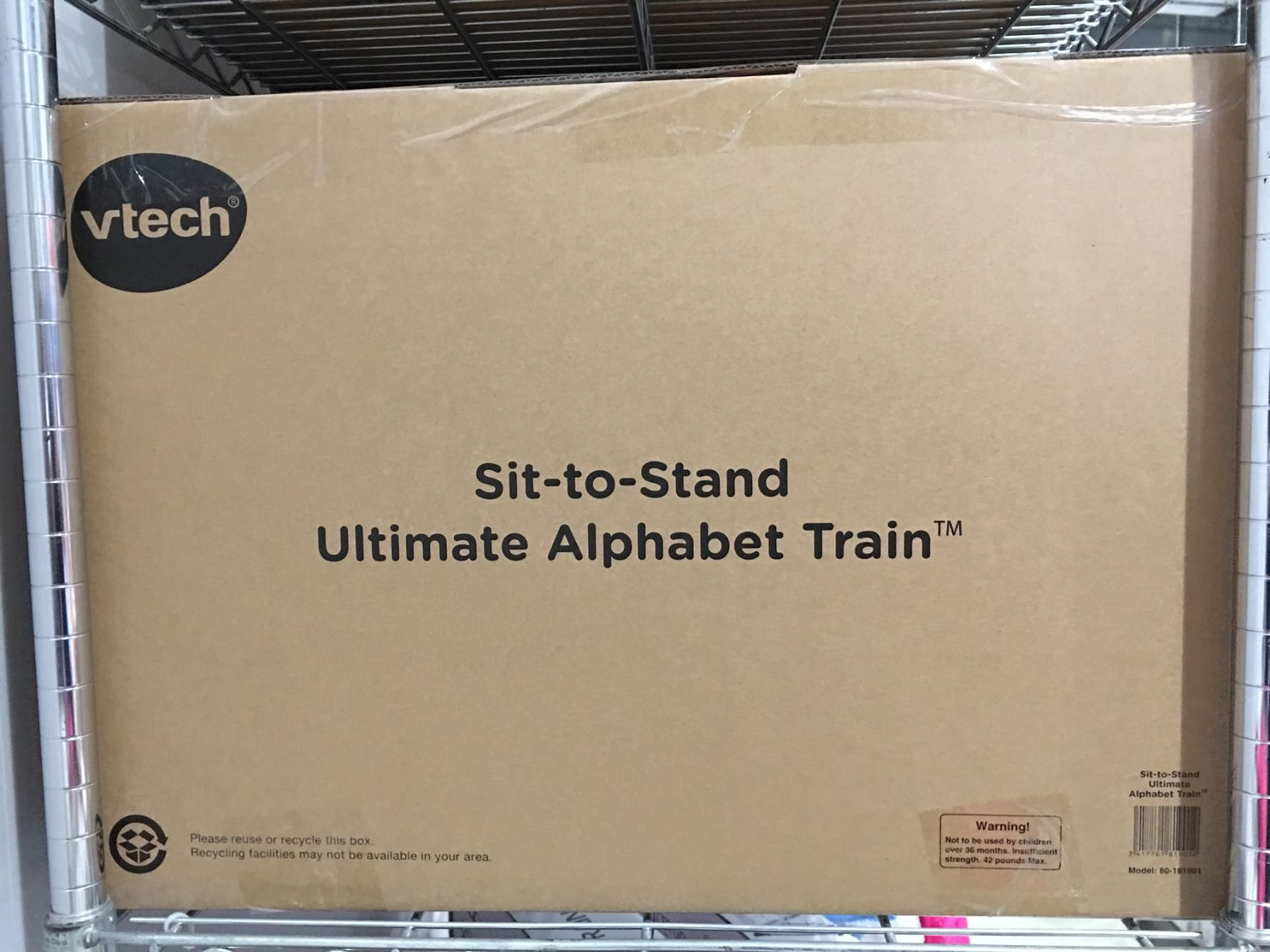 V Tech Sit To Stand Ultimate Alphabet Train