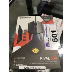 STEEL SERIES RIVAL 600 COMPUTER MOUSE