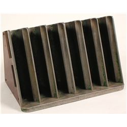 Stacking Silver Dollar Tray for Gaming Table
