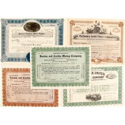 Gold Mining Stock Certs. (5)