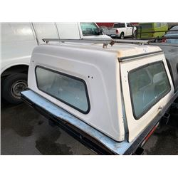 WHITE TRUCK CANOPY
