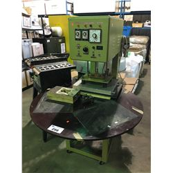 TAIYO INDUSTRIAL ROTATING TABLE HEAT PRESS