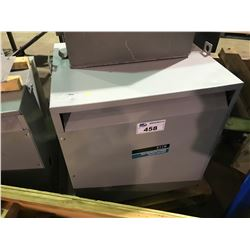 REX MANUFACTURING BA75FM 3 PHASE ISOLATION TRANSFORMER