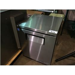 TRUE TUC-24-HC STAINLESS STEEL SINGLE DOOR REFRIGERATED  PREP STATION