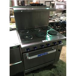IMPERIAL 6 BURNER STAINLESS STEEL COMMERCIAL  INDUCTION OVEN