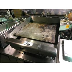 IMPERIAL STAINLESS STEEL COUNTERTOP COMMERCIAL GRIDDLE