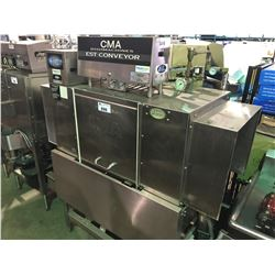 CMA DISHMACHINES STAINLESS STEEL CONVEYOR DISHWASHER