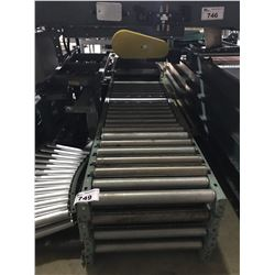 "5 SECTIONS OF 18"" ROLLER CONVEYOR"