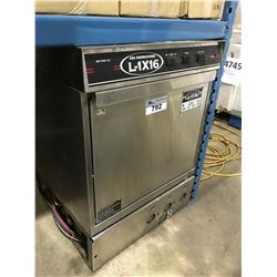 CMA L-1X16 STAINLESS STEEL UNDER COUNTER COMMERCIAL DISHWASHER