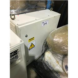 SCHAFFNER  270V WHITE MOBILE TRANSFORMER BOX