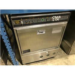 CMA L-1X STAINLESS STEEL UNDER COUNTER COMMERCIAL DISHWASHER