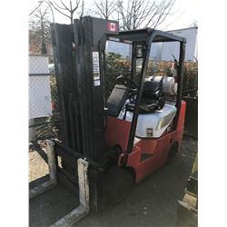 DAEWOO GC30S-3 4800LBS CAPACITY 3 STAGE PROPANE FORKLIFT WITH SIDESHIFT - 6794 HOURS