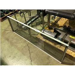 "STAINLESS STEEL 73"" X 23"" SIFTING TABLE ATTACHMENT"