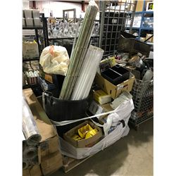 PALLET OF ASSORTED LIGHTING, FANS & MISCELLANEOUS