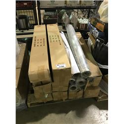 PALLET OF ASSORTED DIAMOND FOIL ROLLS