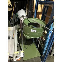 GREEN INDUSTRIAL DUST COLLECTION SYSTEM