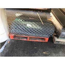 PALLET OF CHAIN LINK FENCE