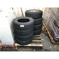 PALLET OF ASSORTED CAR TIRES