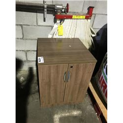 BROWN STATIONARY CABINET