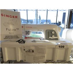 SINGER FUTURA XL-550 SEWING MACHINE