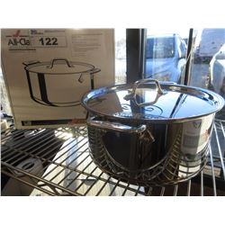 ALL-CLAD COPPER CORE 8 QUART STAINLESS STOCK POT