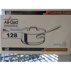 ALL-CLAD COPPER CORE 2 QUART SAUCE PAN