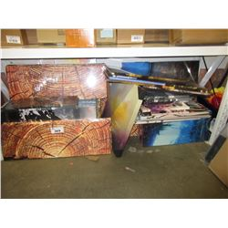 LARGE LOT OF CANVAS PHOTOS