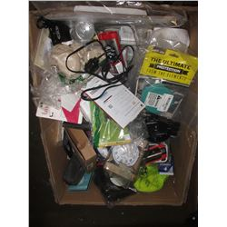 BOX OF ASSORTED MISC