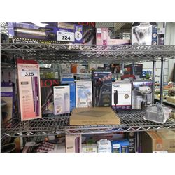 SHELF OF ASSORTED BEAUTY & HEALTH PRODUCTS