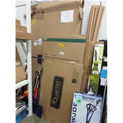 LARGE LOT OF DRY ERASE BOARDS & MISC