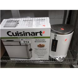 CUISINART AUTOMATIC BREADMAKER & SIMPLEHUMAN GARBAGE CAN