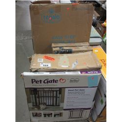 LOT OF APPROX 7 BABY/PET GATES