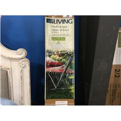 FOR LIVING HAMMOCK STAND (FOR USE WITH MOST DOUBLE & SINGLE HAMMOCKS)