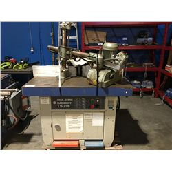 CHEN SHENG LS-735 ACCUTEK INDUSTRIAL SHAPER WITH LIVE FEED