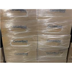 20 BOXES NEW CERTAINTEED MINERAL CEILING SYMPHONY T-BAR CEILING TILE  (56 SQ FEET PER BOX)/1120