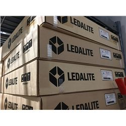 PALLET OF 30 NEW LEDALITE CEILING LIGHT FIXTURES (NO BULBS)