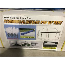10' X 20' COMMERCIAL INSTANT POP-UP TENT