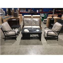 PATIO FLARE 5 PC OUTDOOR/PATIO CONVERSATION SET