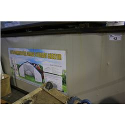 COMMERCIAL GRADE STORAGE SHELTER 30' X 70' X 16' WITH 13' X 13' DOOR