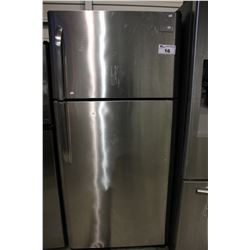FRIDGIDAIRE STAINLESS STEEL FRIDGE/FREEZER