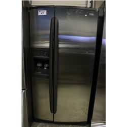 KENMORE ELITE STAINLESS STEEL FRIDGE/FREEZER WITH WATER/ICE