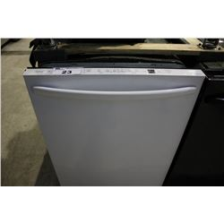 WHITE INSIGNIA NS-DWH1WH9 BUILT - IN DISHWASHER