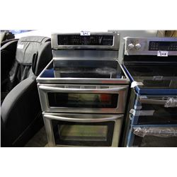 KITCHENAID STAINLESS STEEL ELECTRIC TOP STOVE/OVEN